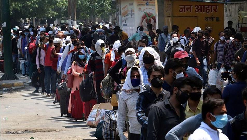 Hindistan'da yeni rekor : Günlük vaka sayısı 400 bini aştı