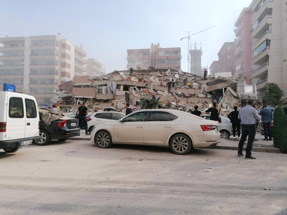 Son Deprem: İzmir'deki 6.6'lık depremden kareler - 15