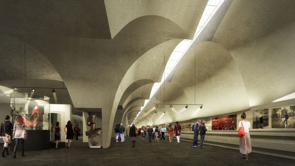Taksim Meydanı Tasarım Yarışması sonuçlandı (Taksim Meydanı böyle olacak) - 39