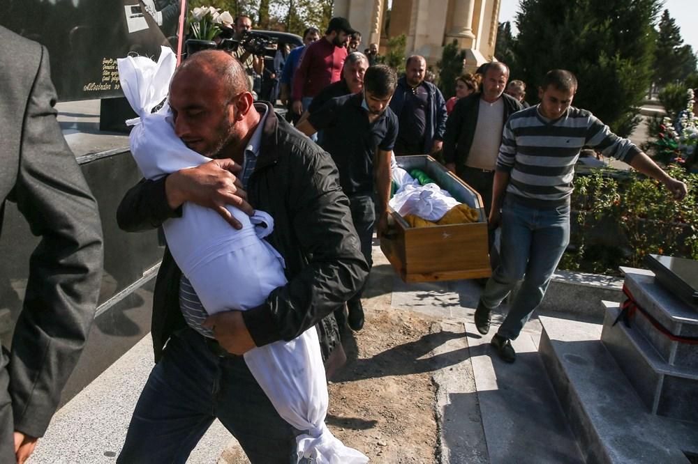 Hain saldırının küçük kurbanları: Cenazede gözyaşları sel oldu - 5
