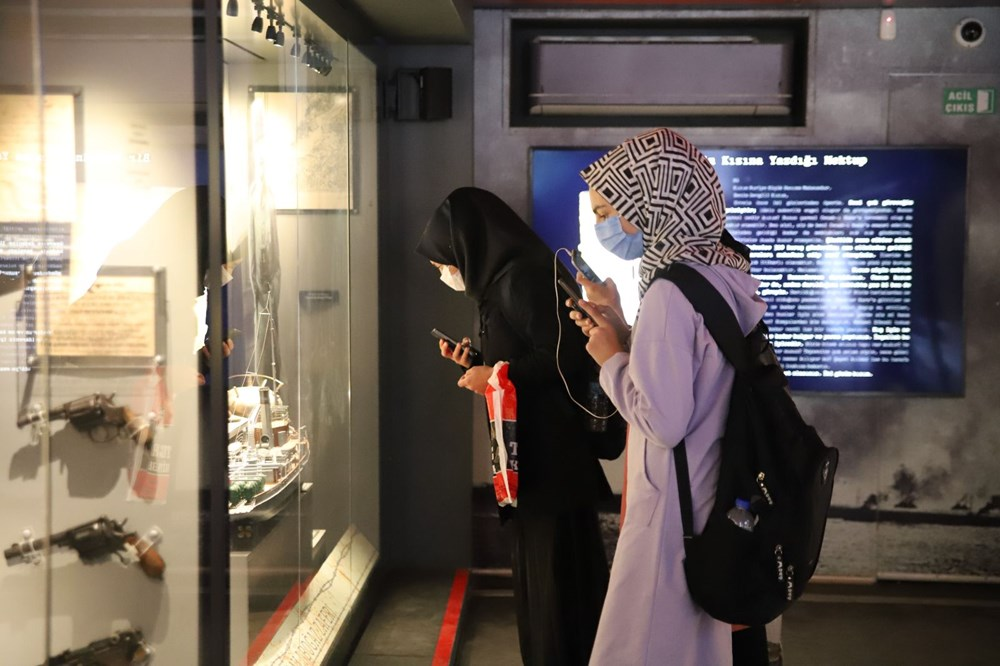 Çanakkale Savaşları Mobil Müzesi'nin 40'ıncı durağı Elazığ oldu - 3