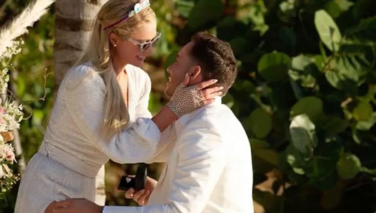 Paris Hilton doğum gününde nişanlandı