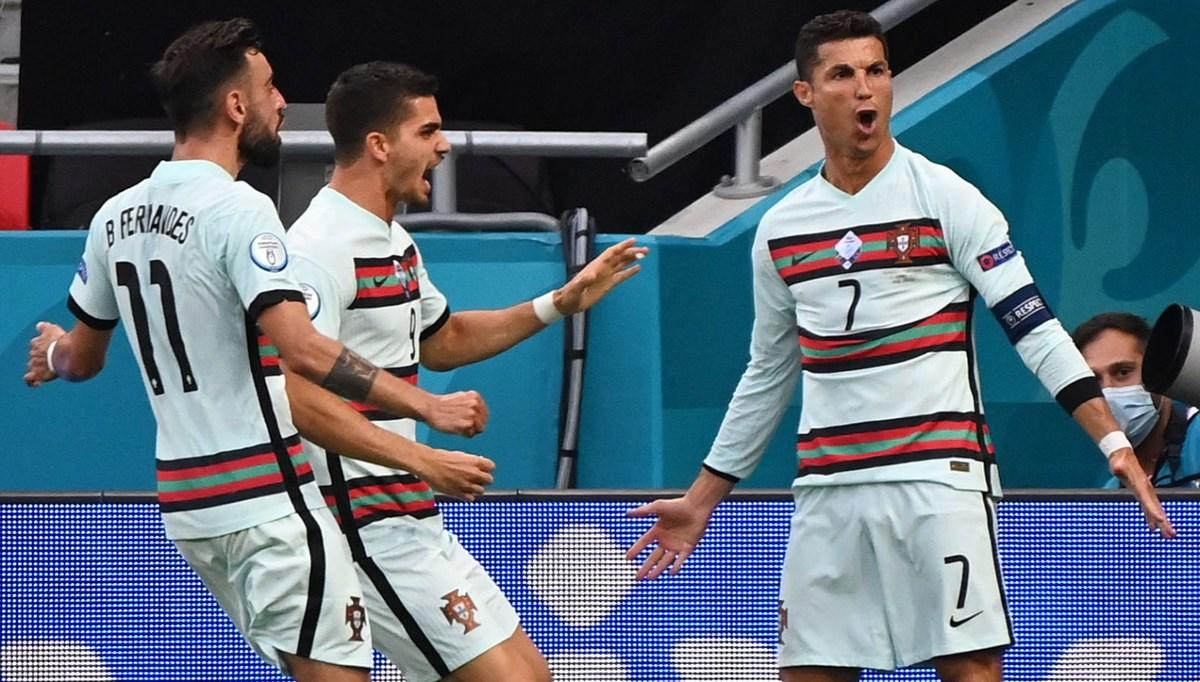 Ronaldo' ve ifte rekoru!