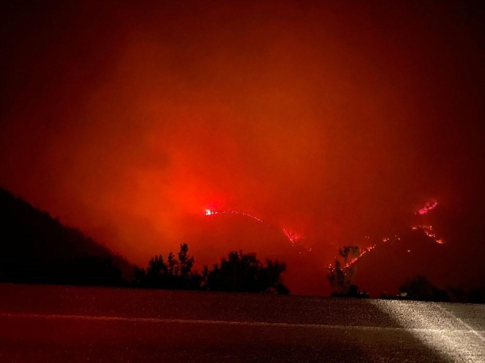 Antalya, Adana, Mersin, Aydın, Muğla, Osmaniye, Kayseri ve Manisa'da orman yangınları - 22