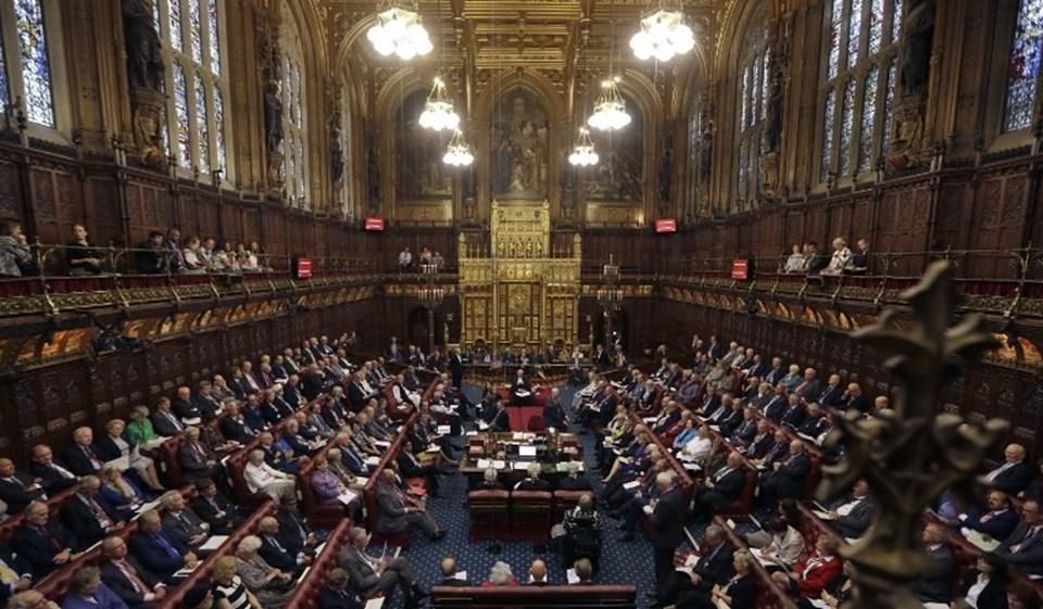 İngiliz Parlamentosu'nun Lordlar Kamarası