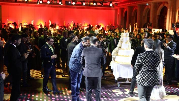 Antalya'da milyon dolarlık Hint düğünü