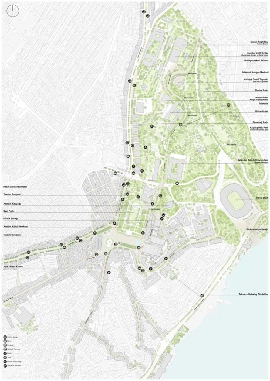 Taksim Meydanı Tasarım Yarışması sonuçlandı (Taksim Meydanı böyle olacak) - 32