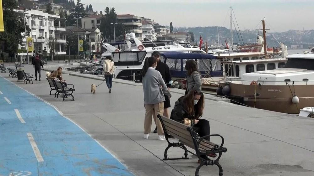 Kısıtlama yokmuş gibi! İstanbul'da sahiller doldu taştı - 2