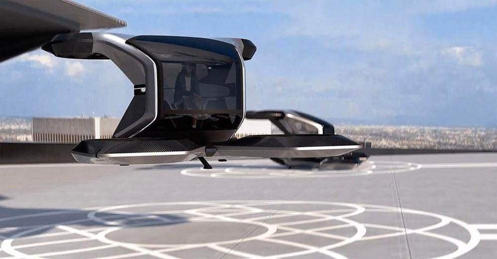 Cadillac sürücüsüz uçan otomobilini tanıttı - 2