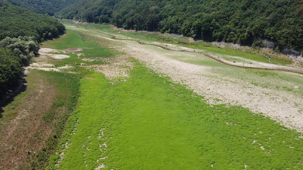 İstanbul'un su ihtiyacını karşılayan Trakya'daki barajlar kurudu - 4