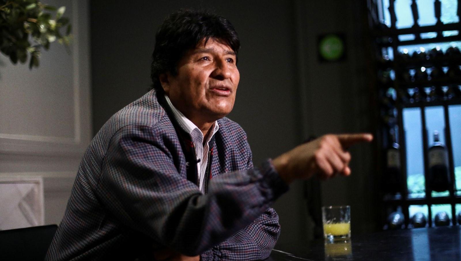 Morales'ten orduya çağrı: Halka silah doğrultmayın