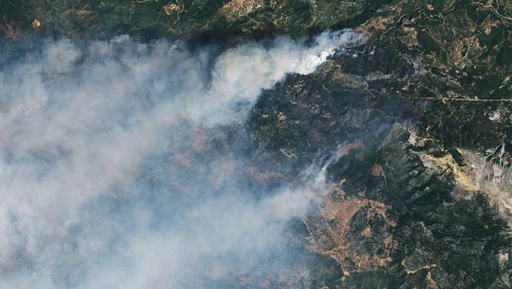 NASA'dan yangınlara ilişkin paylaşım
