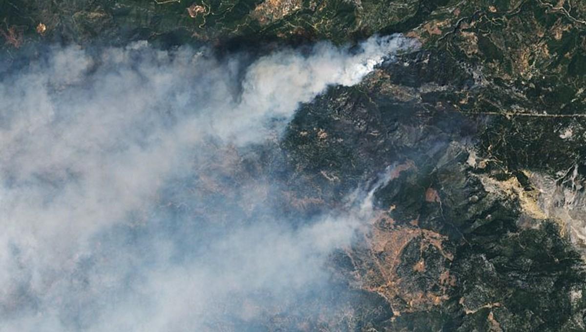 NASA'dan Türkiye'deki yangınlara ilişkin paylaşım