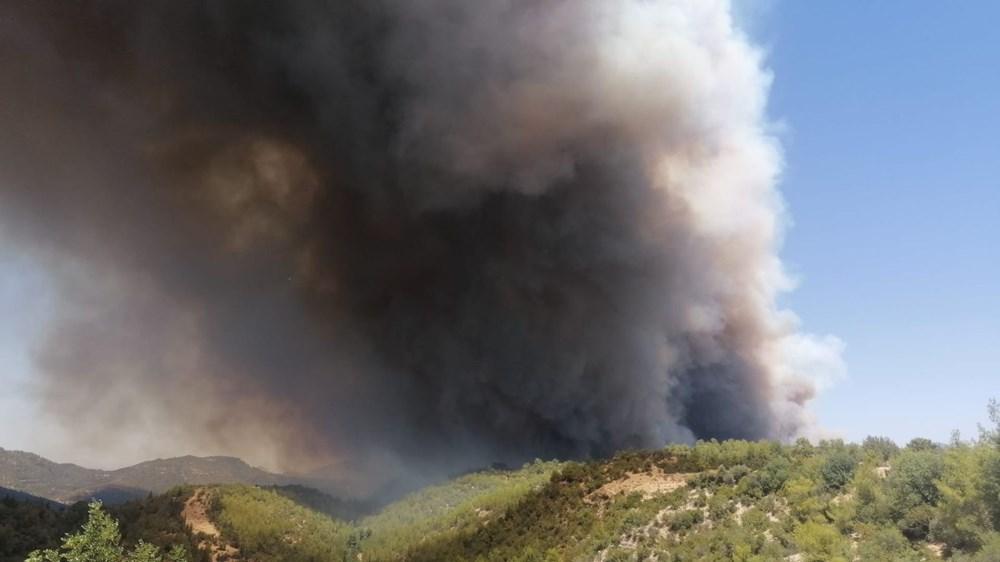 Antalya Manavgat'ta büyük yangın - 21
