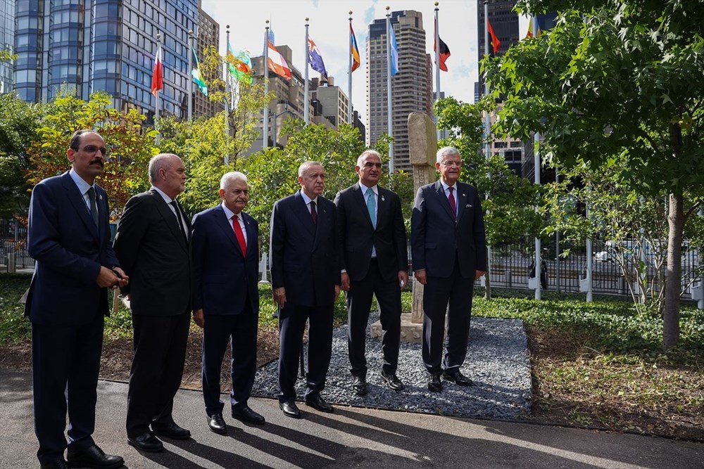 Göbeklitepe BM'de sergileniyor: Cumhurbaşkanı Erdoğan'dan paylaşım - 7