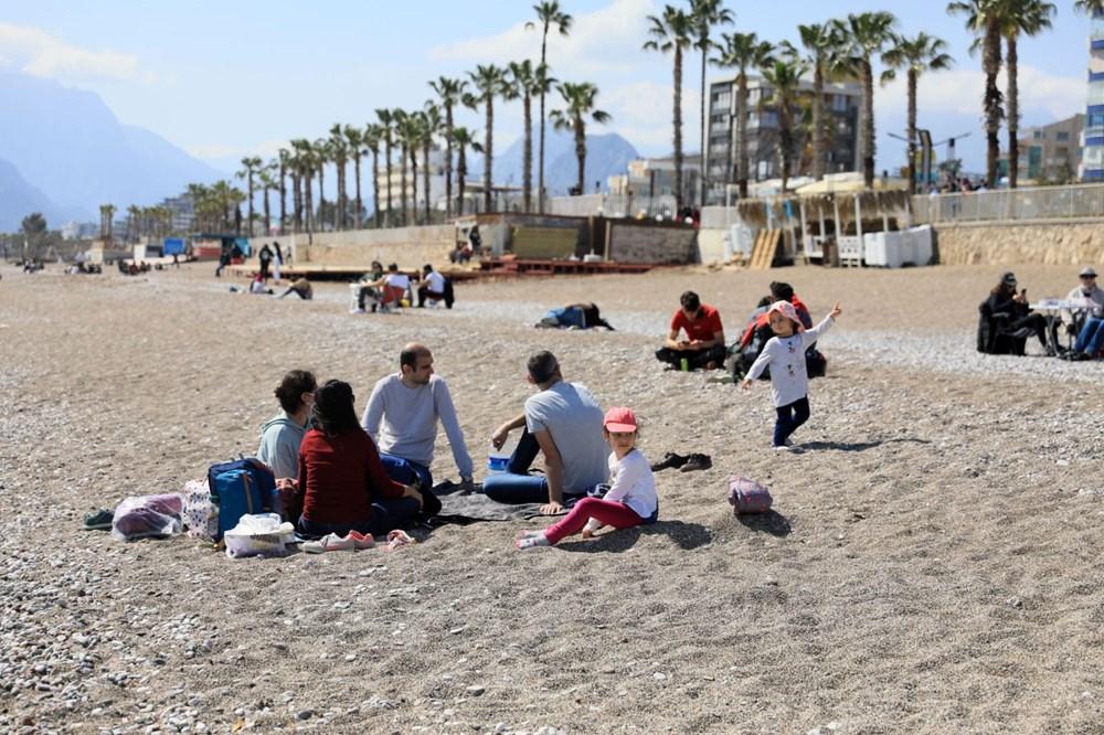 Kademeli normalleşmede 2. hafta sonu: Sahil ve parklar doldu - 13