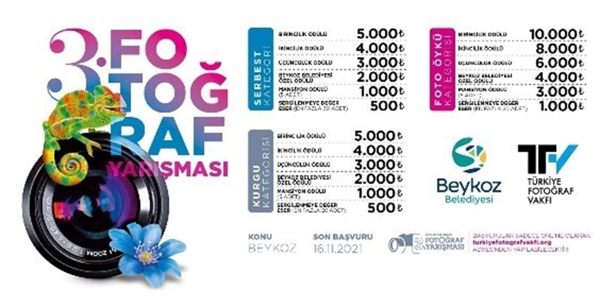 """""""Beykoz Belediyesi 3. Fotoğraf Yarışması""""nın sonuçları, 26 Kasım"""