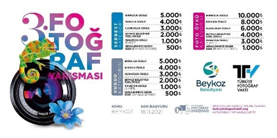 """""""Beykoz Belediyesi 3. Fotoğraf Yarışması""""nın sonuçları, 26 Kasım'da açıklanacak ve 11 Aralık'ta yapılacak törenle sahiplerini bulacak."""