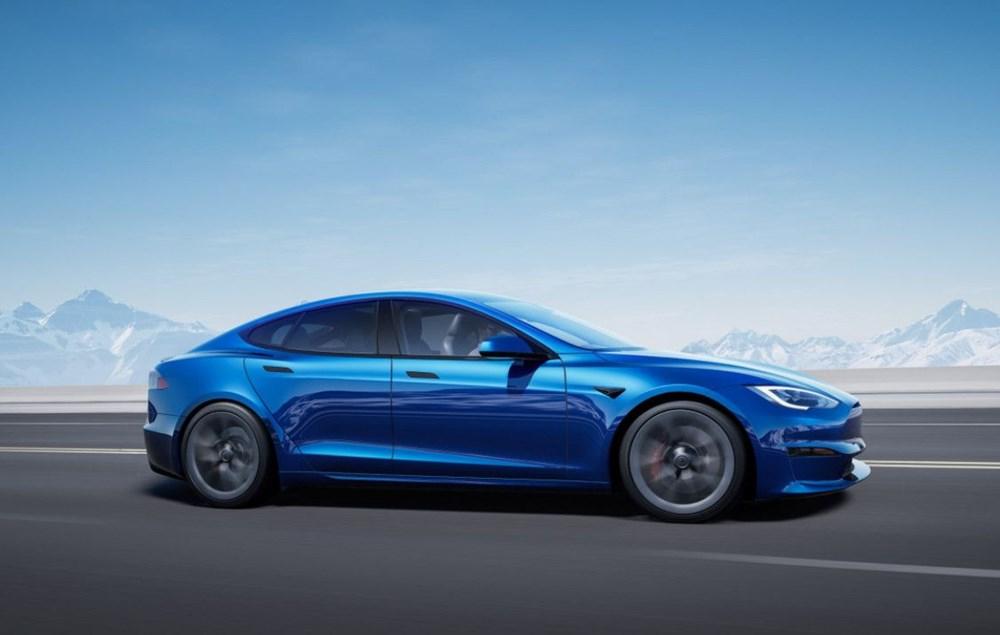 Tesla Model S'in yeni kokpit görselleri yayınlandı - 1