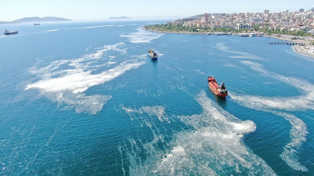 İstanbul sahillerini istila eden deniz salyalarında yoğunluk arttı - 2
