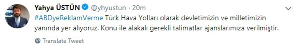 Yahya Üstün/Twitter