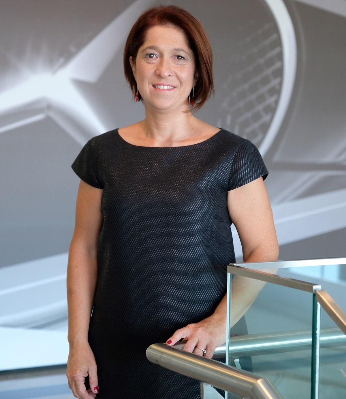 Daimler Küresel IT Çözümleri Merkezi Direktörü Özlem Vidin Engindeniz