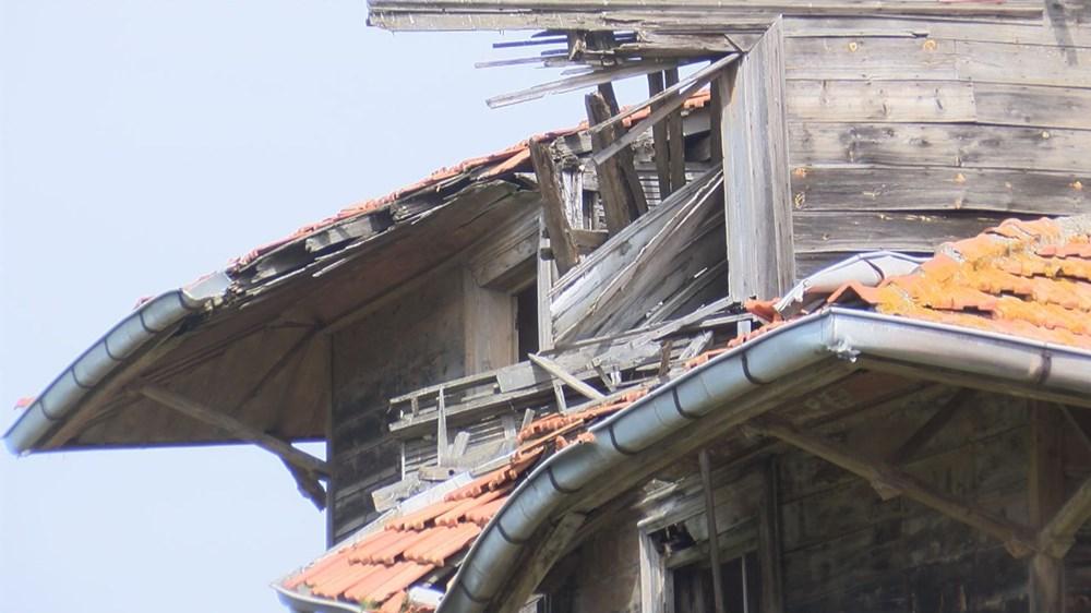 Restorasyonuna henüz başlanmayan Büyükada Rum Yetimhanesi'nin son durumu - 3