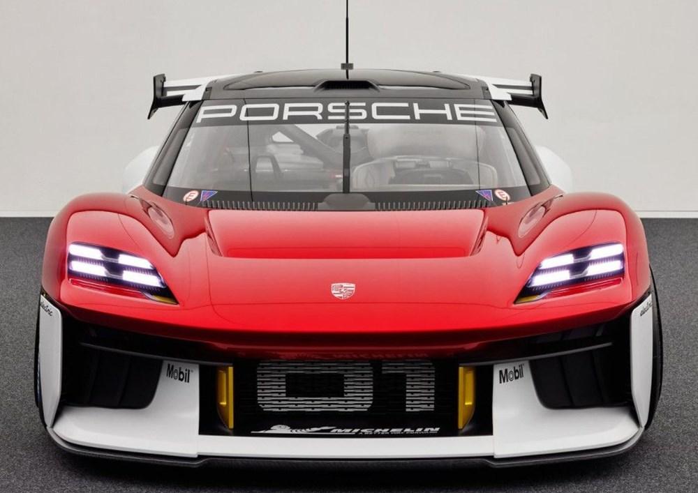 Porsche Mission R Konsepti tanıtıldı: Elektrikten gelen 1.088 beygirlik güç - 8