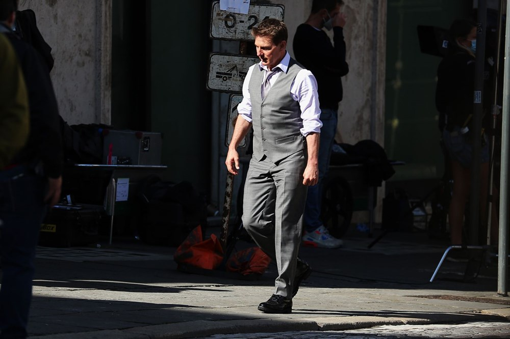Tom Cruise Görevimiz Tehlike 7'nin çekimleri için Covid-19'a karşı güvenli stüdyo yaptırdı - 4