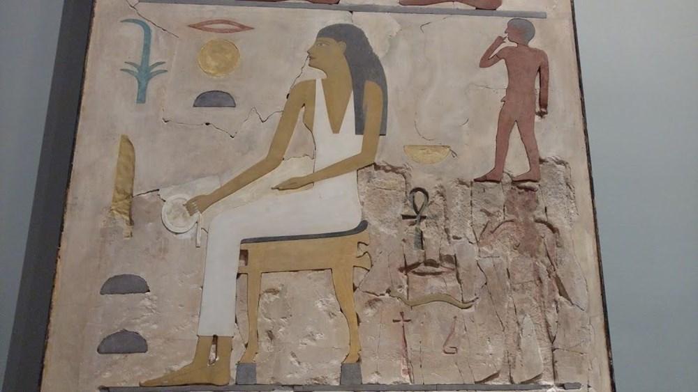 """Antik Mısır'ın """"Mona Lisa""""sı binlerce yıl önce soyu tükenen hayvanı gün yüzüne çıkardı - 7"""