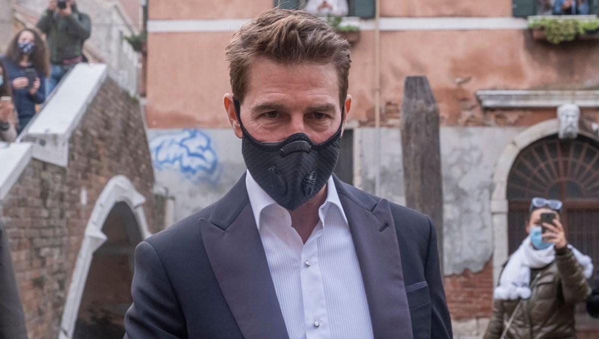Tom Cruise Görevimiz Tehlike 7'nin çekimleri için Covid-19'a karşı güvenli stüdyo yaptırdı