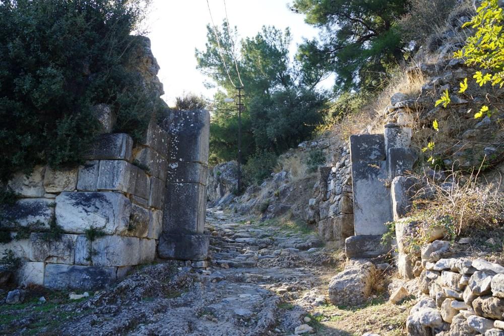 M.Ö. 4.yüzyılda kurulan ilk planlı şehir Priene - 4