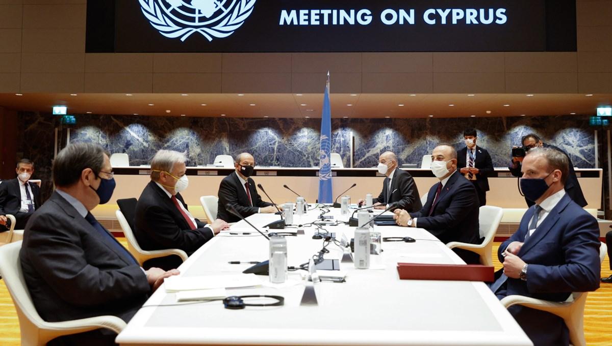 SON DAKİKA:Kıbrıs görüşmelerinden sonuç çıkmadı