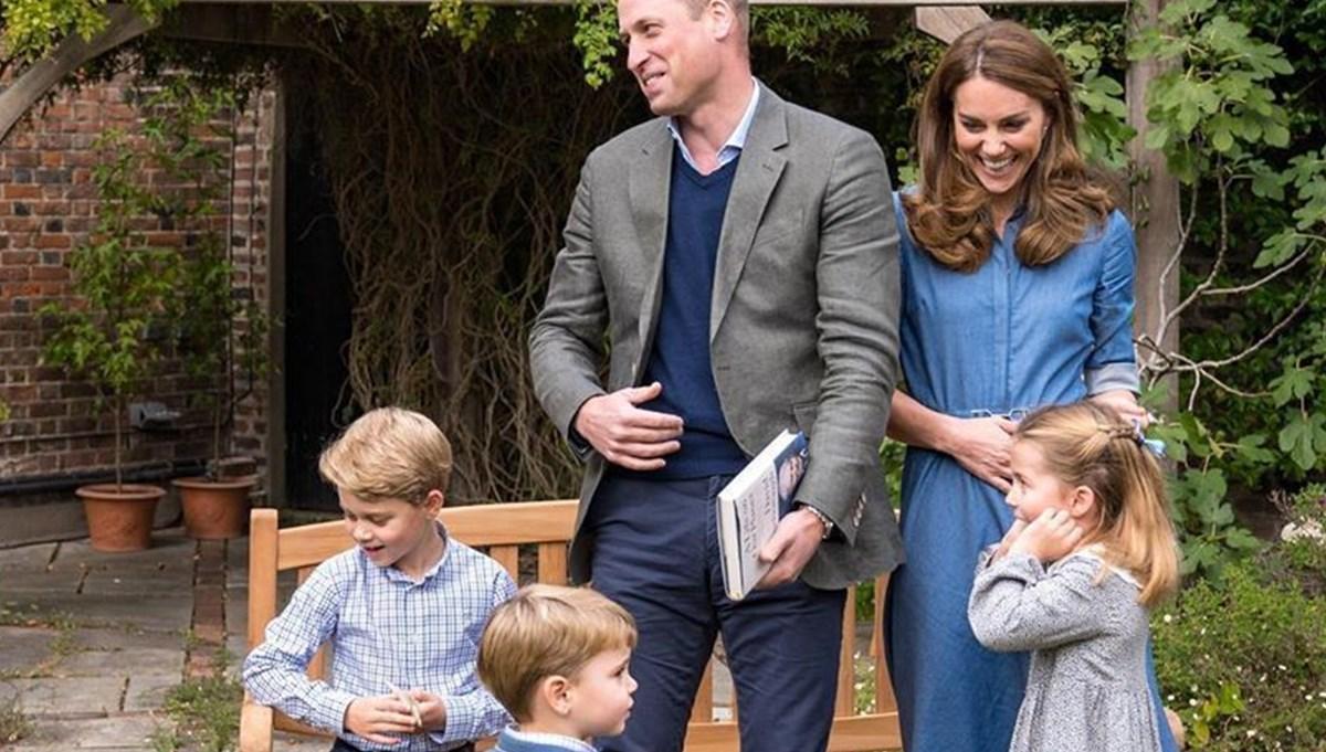 Prens William ve Kate Middleton çocuklarını en sevdikleri ünlüyle tanıştırdı