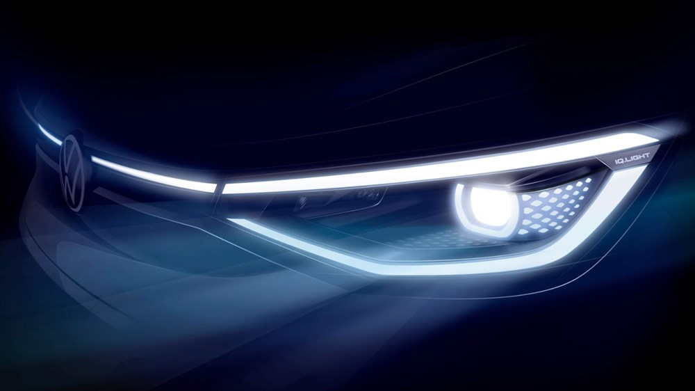 Volkswagen'in ilk elektrikli SUV'u ID.4'ün seri üretimine başlandı - 5