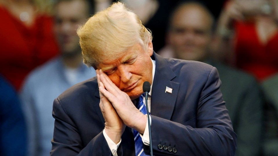 Tweet'lerinin analizi ABD Başkanı'nın göreve başladığından bu yaza daha az uyuduğunu gösterdi.
