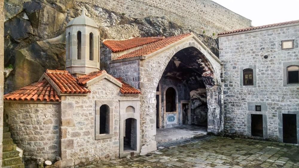 Trabzon'da restorasyonu tamamlanan Kızlar Manastırı ziyarete açıldı - 16