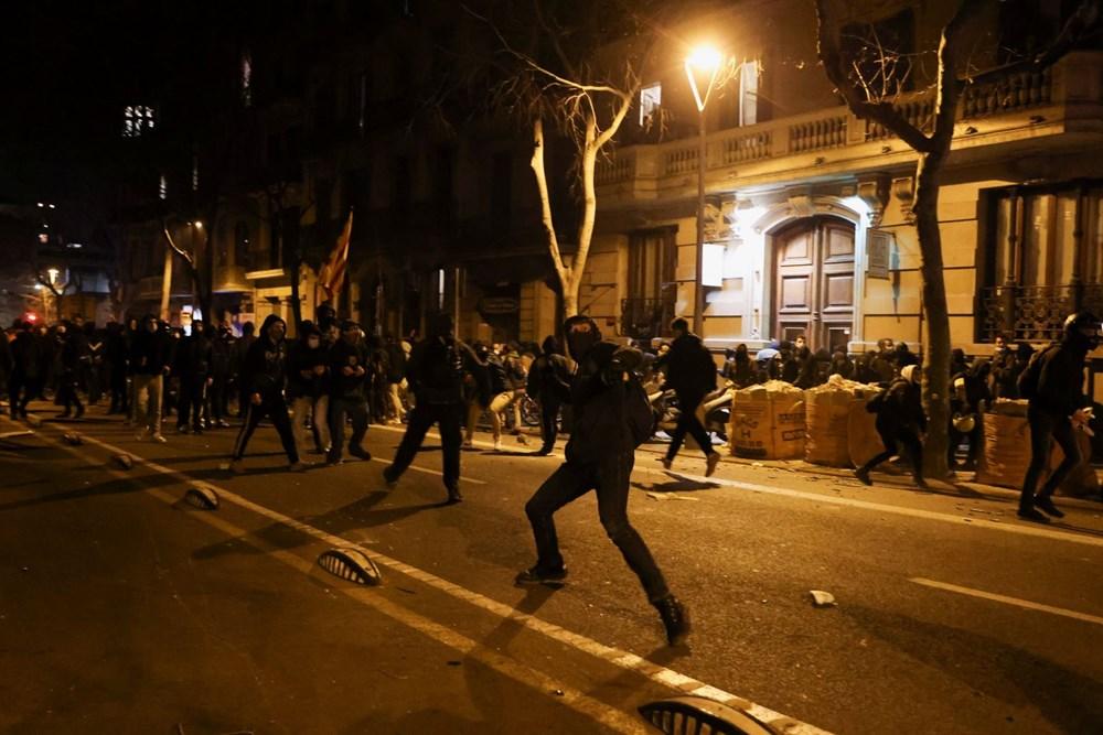 İspanya'da tutuklanan rapçi Hasel'e destek gösterileri üçüncü gününde - 7