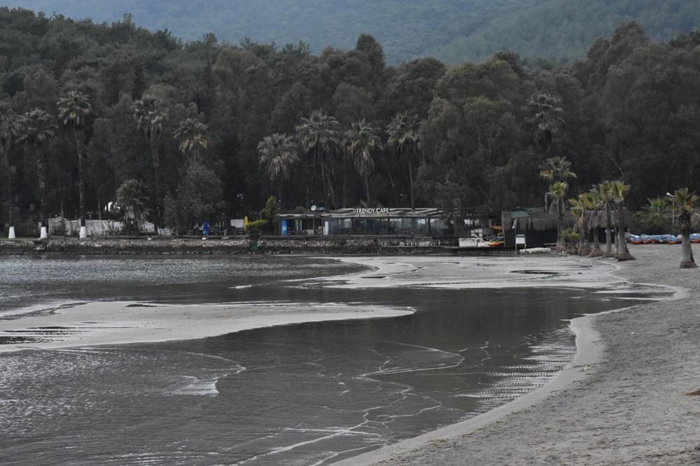 Muğla'da deniz suyu 40 metre çekildi - 7