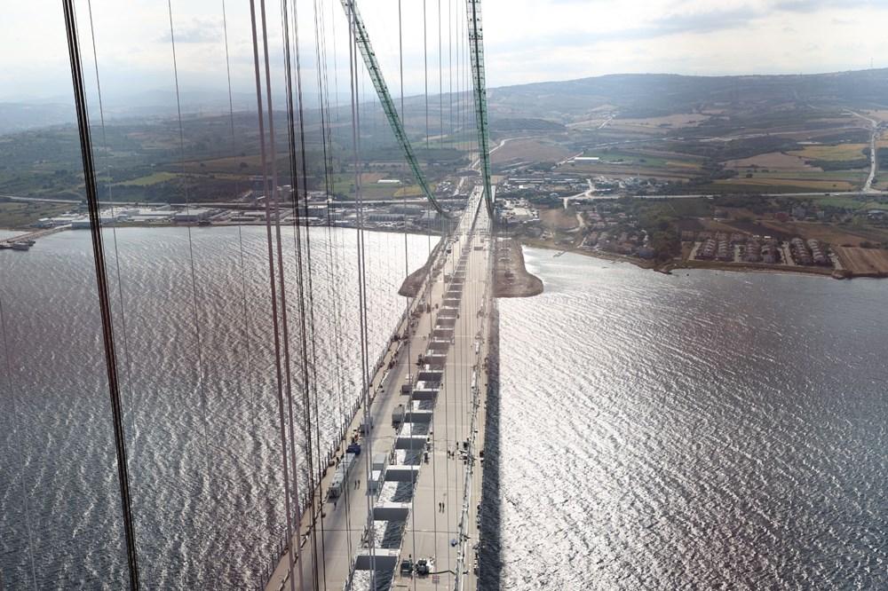 Bakan 1915 Çanakkale Köprüsü üzerinden Anadolu'dan Avrupa'ya geçti - 8