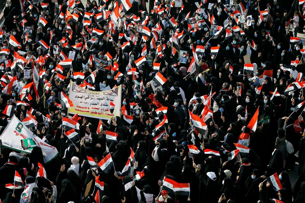Irak Zikar'da gösterileri hedef alan saldırıda 3 protestocu öldü, 70 kişi yaralandı - 5