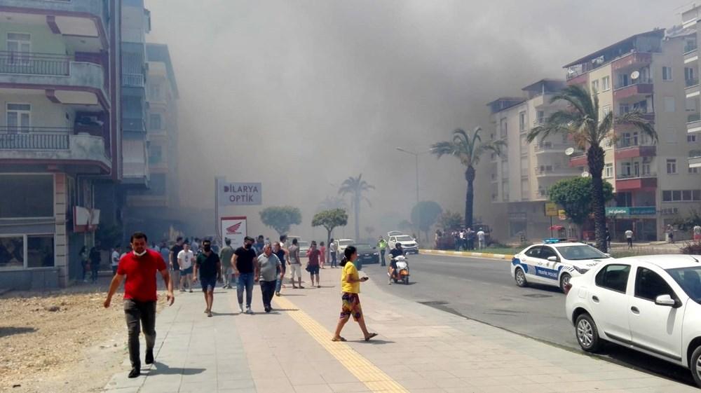 Antalya Manavgat'ta büyük yangın - 22