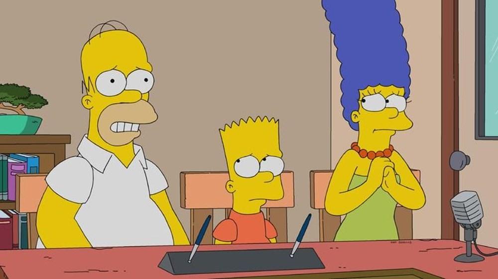 Simpsonlar (The Simpsons) dizisinde değişiklik - 1