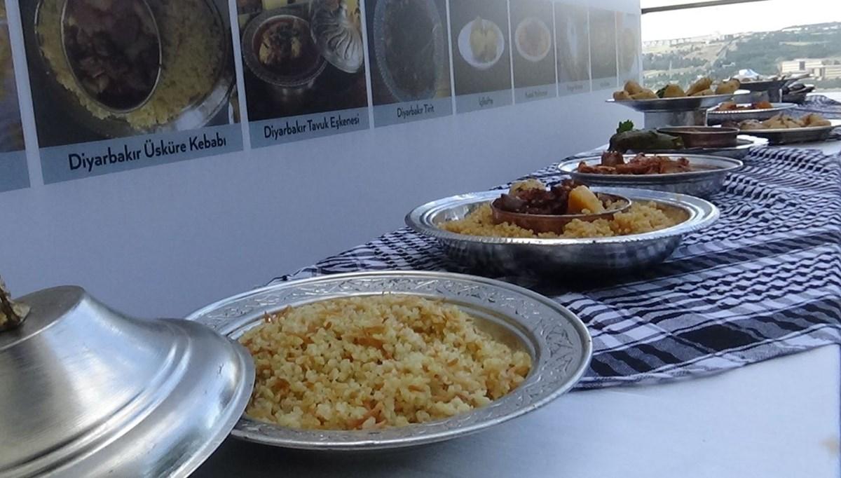 Diyarbakır'ın dokuz lezzetine coğrafi işaret: 54 yemek de sırada