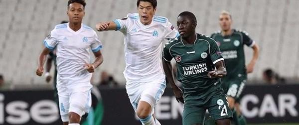 Atiker Konyaspor-Olympique Marsilya karşılaşması