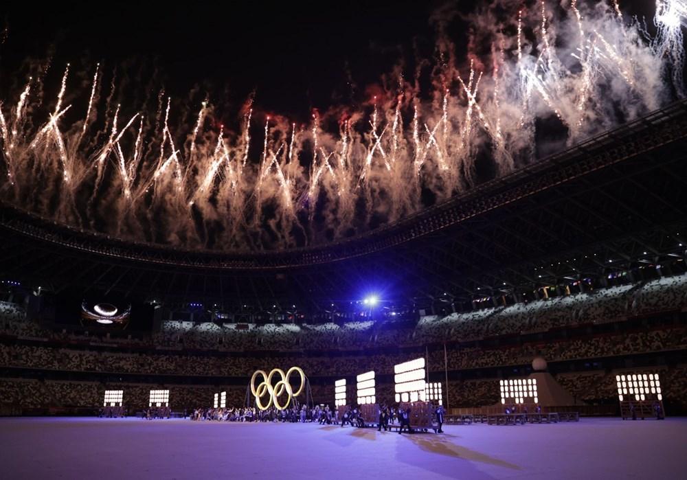 2020 Tokyo Olimpiyatları görkemli açılış töreniyle başladı - 56