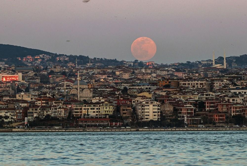 Yurttan 'Süper Solucan Ay' manzaraları - 20