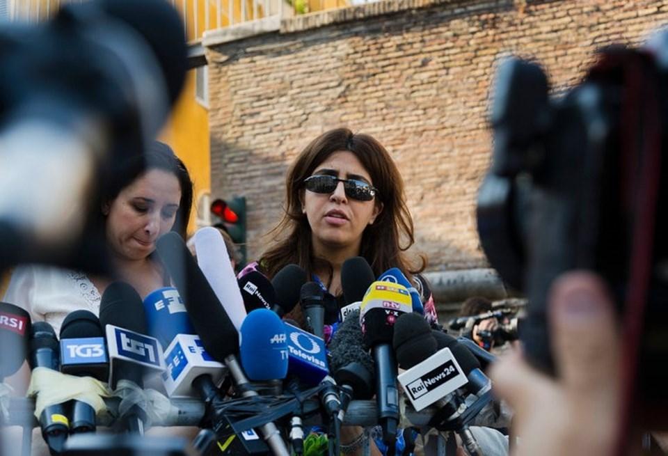 İtalyan halkla ilişkiler uzmanıFrancesca Immacolata Chaouqui kararın ardından basına açıklamalarda bulunndu.