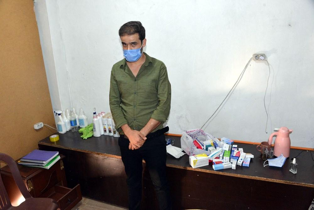 Suriyelilerin işlettiği 6 kaçak kliniğe polis baskını - 4