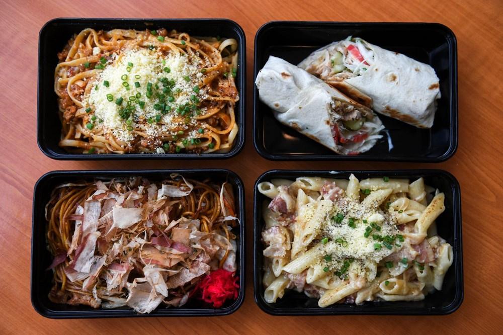 Uçak yemeklerini özleyenler için restoran açıldı - 13